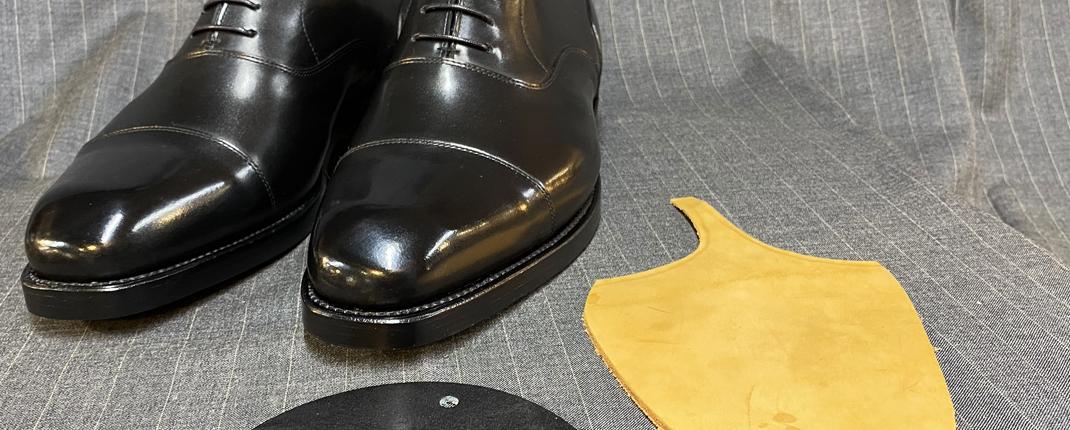 オーダー靴フェア仕上がり例 ストレートチップ
