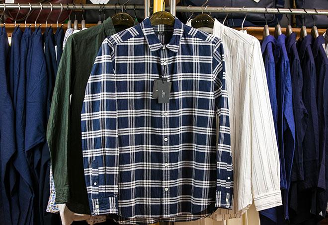 チェックシャツ 18,000円→12,600円(+税)