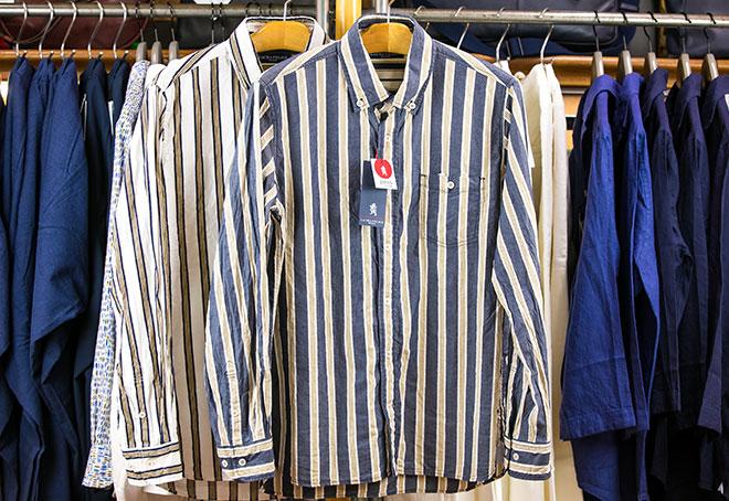 ストライプシャツ 24,000円→16,800円(+税)